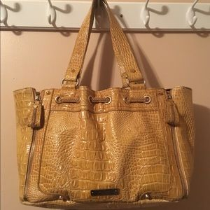Jessica Simpson Leather Shoulder Bag, Like New!